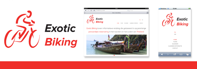 Responsive case: Exotic Biking